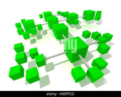 connessioni Foto Stock