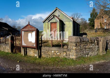 Vecchio metodista tabernacolo di stagno, Thorlby, vicino a Skipton, North Yorkshire, Regno Unito Foto Stock