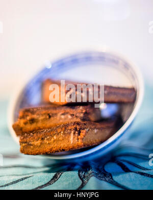 Ketogenic Flourless senza Glutine Brownie Foto Stock