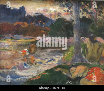 Paul Gauguin (1848-1903) - Lomg termine prestito anonimo a Honolulu Academy of Arts Foto Stock