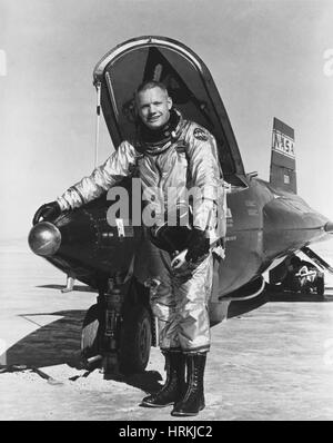 Neil Armstrong, astronauta americano Foto Stock
