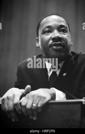 Martin Luther King Jr., leader dei diritti civili Foto Stock