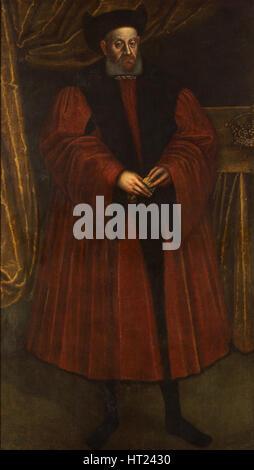 Ritratto di Sigismondo I di Polonia (1467-1548), del XVII secolo. Artista: Anonimo