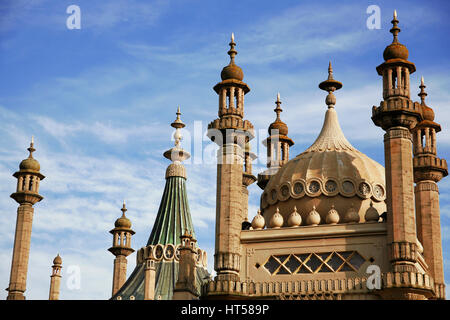 Royal Pavilion Brighton SUSSEX REGNO UNITO Foto Stock