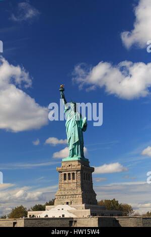 Stati Uniti d'America, New York New York City, la Statua della Libertà monumento nazionale Foto Stock