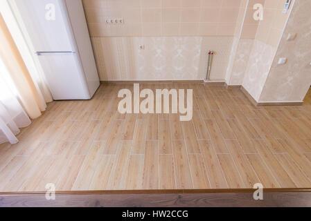 Piano di zonizzazione in interni cucina ceramiche piastrelle