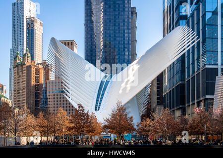 Trasporto Hub Oculus - New York, Stati Uniti d'America Foto Stock