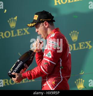 Melbourne, Australia. 26 Mar, 2017. Formula 1 Rolex Australian Grand Prix, 23. - 26.03.2017 Credito: Cronos/Alamy Foto Stock