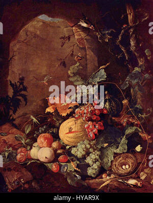 Jan Davidsz de Heem 003 Foto Stock
