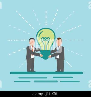 Idea. Concetto di immagine aziendale. Foto Stock