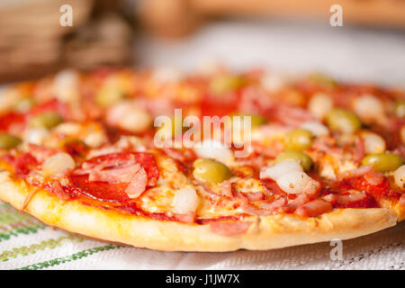 Pizza italiana Foto Stock