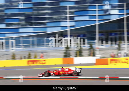 Sochi, Russia. 28 apr, 2017. 28.04.2017, Sochi Autodrom, Sochi, FORMULA 1 VTB RUSSO GRAND PRIX, 28.04. - 30.04.2017 Foto Stock