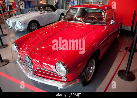 Alfa Romeo Giulietta sprint classic car Foto Stock