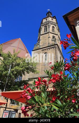 Chiesa Sankt Andreas, Weissenburg in Bayern, una città in Media Franconia, Baviera, Germania
