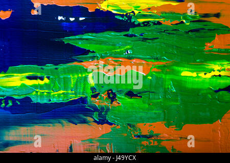 Una pittura astratta sfondo Foto Stock