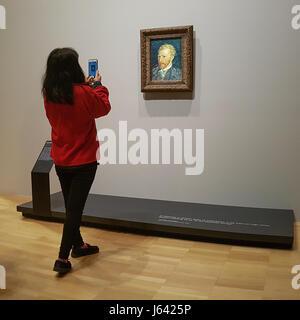 Arte apprezzamento nell' era digitale Foto Stock