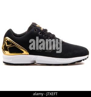 adidas zx flux nere e oro donna