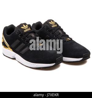 adidas zx flux nero e oro donna