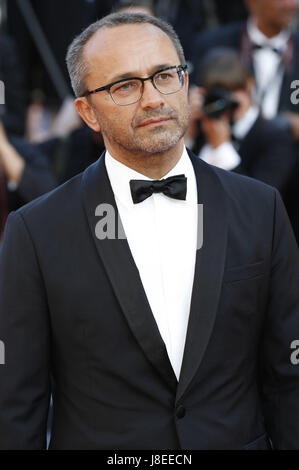 Cannes, Frankreich. 28 Maggio, 2017. Andrey Zvyagintsev/Andrei Swjaginzew frequentando la chiusura notturna del Foto Stock