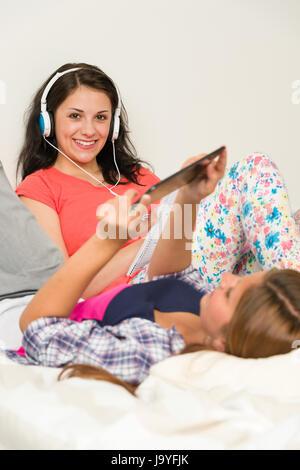 Ridere risate, ridere, twit, risatina, sorriso, sorridente, risate, laughingly, Foto Stock
