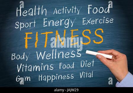 Fitness Foto Stock