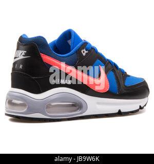Nike Air Max Command (GS) Blu, Nero e Rosso di gioventù