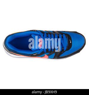 Nike Air Max Command (GS) nero, grigio e rosso della