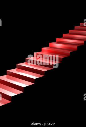Scale, rosse, Foto Stock