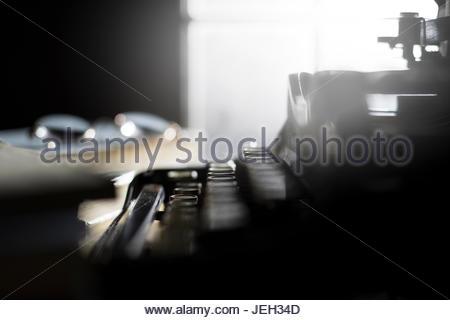 Nastri inchiostratori per macchine da scrivere still life. moody