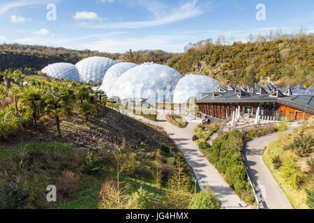 Eden Project - Cornwall Foto Stock