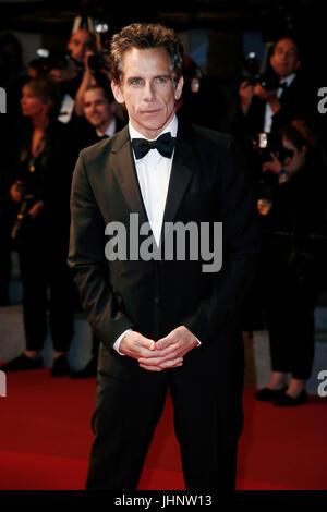 """CANNES, Francia - 21 Maggio: Ben Stiller assiste """"Meyerowitz storie 'premiere durante il settantesimo festival di Foto Stock"""