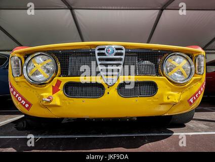 Alfa Romeo Giulia Sprint GTA-R dal 1966 dalla solitudine Revival 2017 a Stuttgart Germania Foto Stock