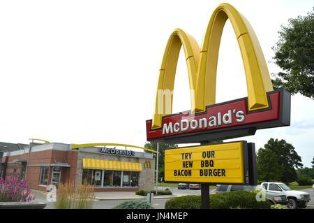 Segno di McDonald Foto Stock
