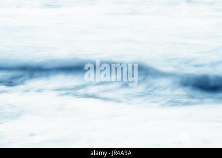 Abstract, sfocata acqua, high key texture di sfondo immagine. Foto Stock
