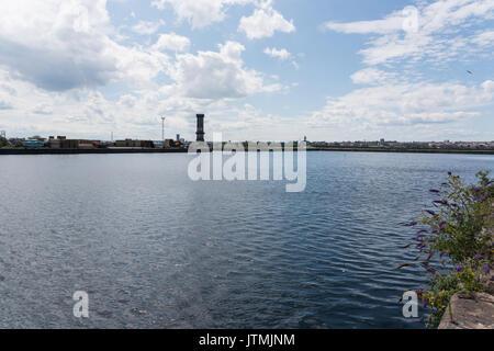 Bramley Moore Dock Liverpool. Ubicazione del nuovo Everton FC stadio che sarà lo spostamento dalla loro Goodison Park location