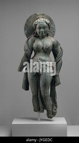 Vi secolo Dea Madre Matrika murti, India Foto Stock