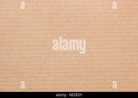 Marrone naturale carta riciclata sfondo texture Foto Stock