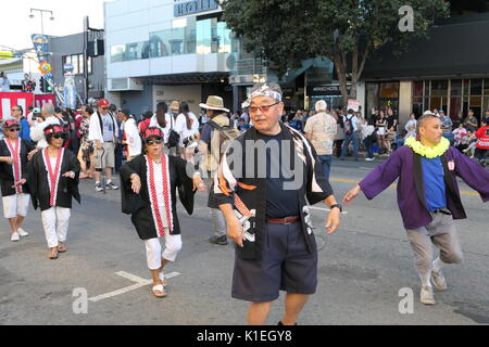 Los Angeles, Stati Uniti d'America. 27 Agosto, 2017. Superba Nisei Week Festival cerimonia di chiusura il 27 agosto Foto Stock