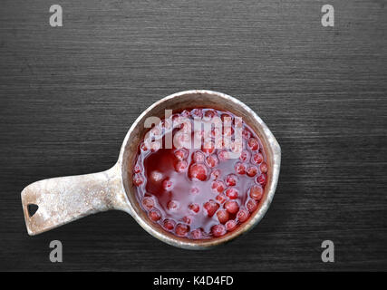 Bevanda Lingonberry Foto Stock