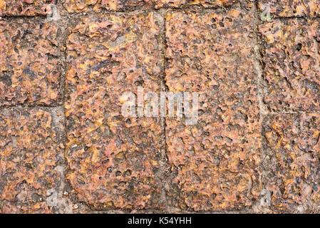 Le piastrelle del pavimento in cotto e texture pattern di sfondo