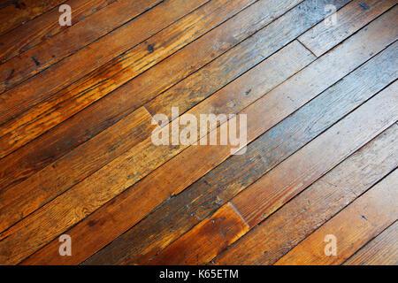 Il pavimento in legno - Giovanni gollop Foto Stock