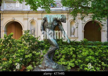Francia, Rhone, Lione, storico sito elencato come patrimonio mondiale dall' UNESCO, Palais Saint Pierre, il Musee Foto Stock