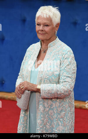 Judi Dench,'Victoria & abdul' - uk premiere,odeon leicester square,london.uk Foto Stock