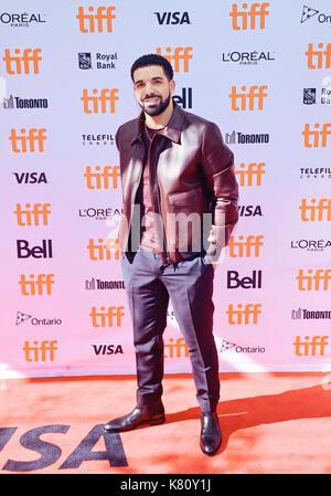 Toronto, Ontario, Stati Uniti d'America. 9 Sep, 2017. 09 settembre 2017 - Toronto ontario canada - Drake. 2017 Toronto Foto Stock