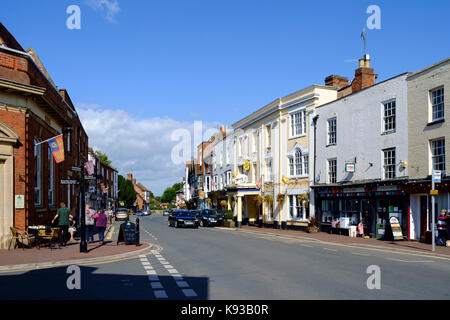 Intorno upton-su-severn Worcestershire Inghilterra Regno Unito Foto Stock