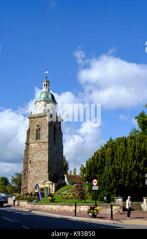 Intorno upton-su-severn Worcestershire Inghilterra uk il pepperpot Foto Stock