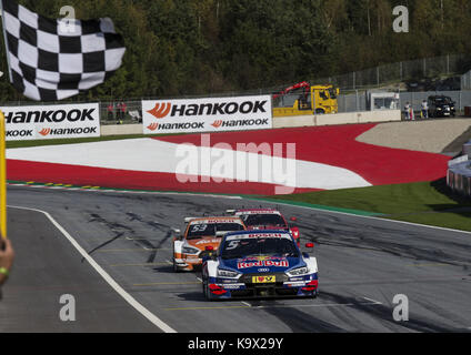 Motorsports: DTM 08 spielberg 2017, red bull Audi RS 5 dtm #5 (Audi Sport Team Abt Sportsline), Mattias Ekström Foto Stock