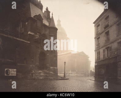 Rue de la Montagne-Sainte-Geneviève, Eugène Atget, 1924 Foto Stock