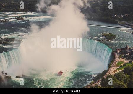 Cascate del Niagara, Canada Foto Stock