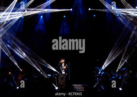 Londra, Regno Unito, 4 ottobre, 2017. Zhang Jie concerto presso l'O2 indigo come parte del suono del mio cuore world Foto Stock